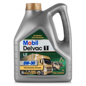 МОТОРНОЕ МАСЛО MOBIL DELVAC 1 LE 5W-30 — 4Л