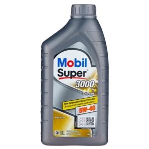 Синтетическое масло Mobil Super 3000 X1 DIESEL 5W-40 (1)