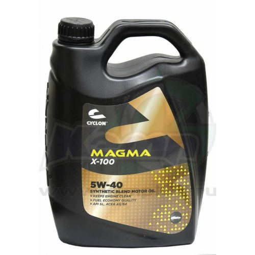 CYCLON MAGMA X-100 5W40 (4l) Моторное масло синт.