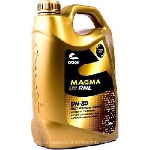 CYCLON MAGMA SYN RNL 5W30 (4l) Моторное масло синт.