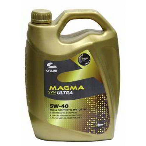 CYCLON MAGMA SYN ULTRA 5W40 (4l) Моторное масло синт.