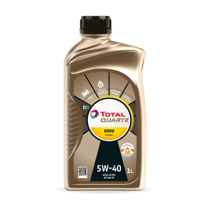 TOTAL Масло моторное QUARTZ 9000 5W-40 (1л) RU