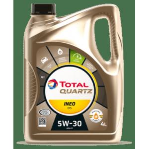 TOTAL Масло моторное QUARTZ INEO ECS 5W-30 (4л)