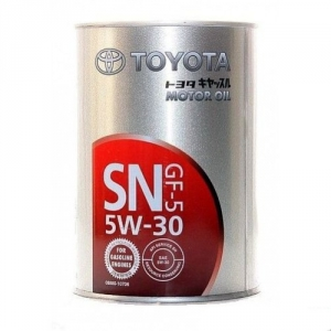 """Масло моторное полусинтетическое TOYOTA """"SN 5W-30"""", 1л / 08880-10706"""