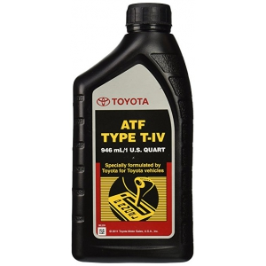 Масло трансм.TOYOTA AUTO Fluid TYPE T-IV (0,946л) 00279-000T4
