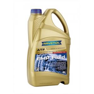 Трансмиссионное масло RAVENOL ATF 6 HP Fluid (4л) new 4014835732797