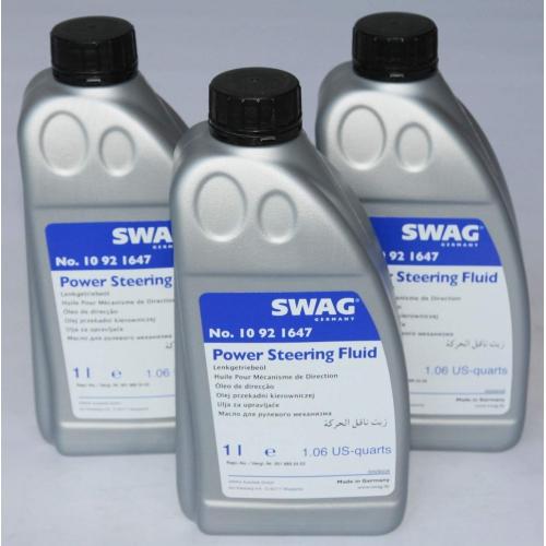Жидкость гидросистем SWAG MB 345.0 зеленая (1л.)