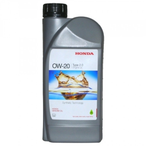 Масло моторное для автомобилей HONDA 0W-20 TYPE 2.0