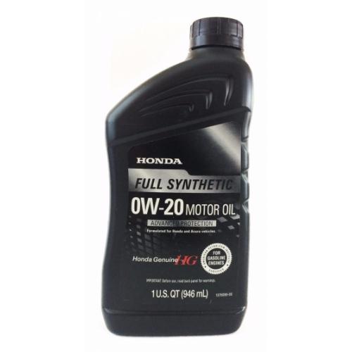 Honda масло моторное 0W-20 SN (0,946л.) (США)