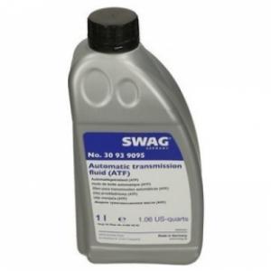 SWAG Масло трансмиссионное ATF L12108 8HP BMW,AUDI,VW c2010 салатовый цвет (1л.)