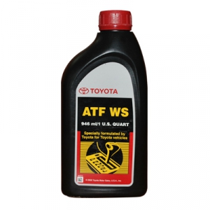 Масло трансмиссионное TOYOTA ATF WS (0,946л.)