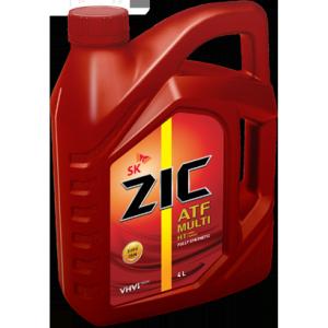Масло для автоматических трансмиссий, синтетическое  ZIC ATF Multi HT (4л.)