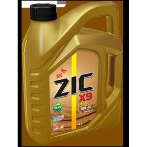Масло для легковых автомобилей, синтетическое ZIC X9 LS 5W-40 Diesel (4л.)