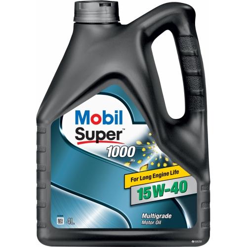 Минеральное масло Mobil Super 1000 X1 15W-40 (4)