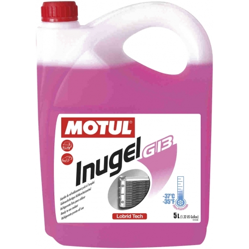 Антифриз MOTUL Inugel G13 -37°C, 5 литров